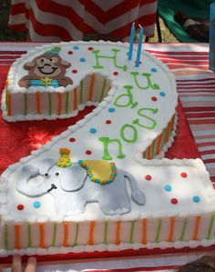 number 2 shape cake ideas for girls Google Search Birthday
