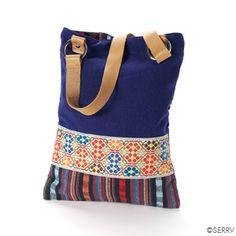Handbags & Shoulder Bags - Blue Miao Tote Bag, China | SERRV