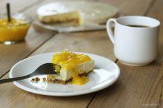Easy & Healthy Ontbijt Mango kwarktaart met agar agar | It's a Food Life