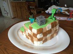 minecraft cake (back side)