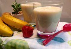 Rostokban gazdag cukormentes turmix recept képpel. Hozzávalók és az elkészítés részletes leírása. A rostokban gazdag cukormentes turmix elkészítési ideje: 5 perc Healthy Drinks, Glass Of Milk, Smoothies, Pudding, Food, Flan, Puddings, Hoods, Meals