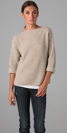 I love this Vince Chunky Sweater (via Shop It To Me)