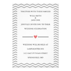 DealsPerfect Zig Zag Wedding Invitation Announcementsyou will get best price offer lowest prices or diccount coupone