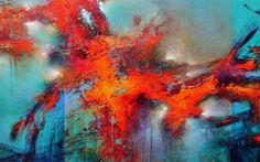 Deepest Passions, Cody Hooper, acrylic, $6500. #blueart #abstractart #contemporaryart #codyhooper