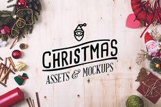 Christmas Assets & Mock Up Pack on Behance