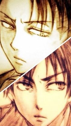 Fans of attack on titan/shingeki no kyojin. my live for levi &eren :') -wallpaper-