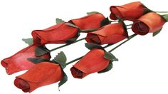 chestnut Closed Bud Rose  Our closed bud roses offer an air of elegance. Each Rose Bud is an individual piece of art that is being created for your special occasion. More sophisticated than a silk artificial flower, this bud is made with high quality birch wood and colored with nontoxic dye.