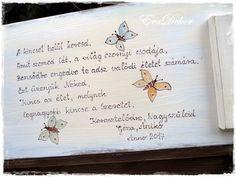 Jókívánság Keresztelőre | EraDekor - Festett Bútorok