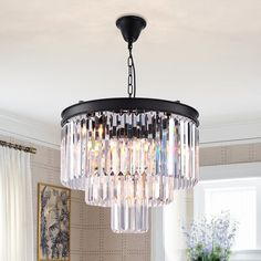 Zgear 7 Lights Luxury Modern/Contemporary Crystal Chandelier Ceiling Light Pendant Light for Dining Room, Living Room Lights). lights Modern Contemporary Crystal Chandelier Ceiling light pendant light with Top grade Clear Glass Crystals. Pottery Barn Lamps, Contemporary Crystal Chandelier, Ceiling Pendant Lights, Chandelier Ceiling Lights, Modern Glass, Dining Room Lighting, Elegant Chandeliers, Beautiful Chandelier, Ceiling Lights