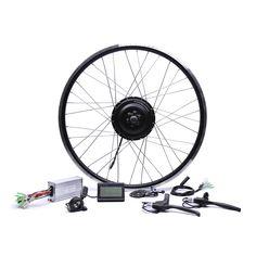 Bicicleta Eletrica 48v500w Bafang Front/rear Electric Bike Conversion Kit Brushless Hub Motors 20'' 26'' 28''diy Motor Wheel