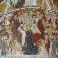 affreschi nella  cappella di San Bernardo a Castelletto Stura [Cuneo