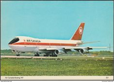 This is my collection of vintage postcards of airplanes. Postcards For Sale, Vintage Postcards, Canadian Airlines, British Airways, Luxury Jets, Boeing Aircraft, Airplane Art, Vintage Air, Commercial Aircraft
