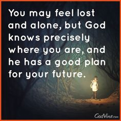 God Has a Good Plan for Your Future - Inspirations