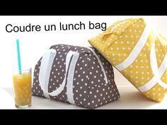 Lunch bag Elsa | Patron couture à télécharger gratuitement | Mouna Sew