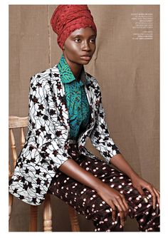 FAB EDITORIAL: PAULA AND SYMARA TEMPLEMAN FOR FACTICE MAGAZINE | CIAAFRIQUE ™ | AFRICAN FASHION-BEAUTY-STYLE