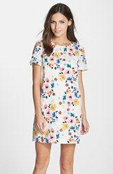 CeCe by Cynthia Steffe 'Kayte' Floral Print Shift Dress