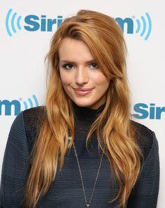 Bella Thorne visits at SiriusXM Studios on May 2014 in New York City Hair Color Auburn, Auburn Hair, Hair Colour, Bella Thorne, Summer Hairstyles, Cool Hairstyles, Layered Hairstyles, Hairstyles Haircuts, Strawberry Blonde Hair
