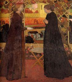 Maurice Denis (France, 1870-1943) The Visitation 1894
