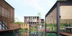Waikiki Wetland Resort, Vengurla - Architecture BRIO, India