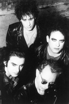The Cure, 1994, right before Boris departure...