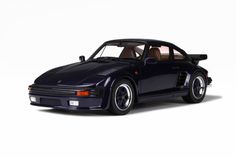 Porsche 911 (930) Turbo Slant Nose - Dark Blue made by GT Spirit in 1:18 (1/18) scale