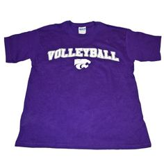 K-State Youth Volleyball Tee