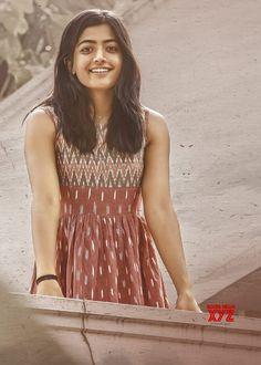 Actress Rashmika Mandanna New Still From Dear Comrade - Social News XYZ Frock Fashion, Fashion Dresses, 4k Photography, Fashion Photography, Frock Models, Casual Frocks, Ikkat Dresses, Girls Frock Design, Most Beautiful Bollywood Actress