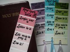 What a great gift idea for my Bible study ladies!! :)