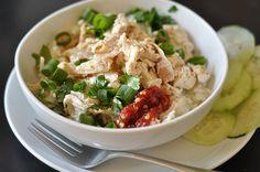 Hainanese Chicken with rice http://www.thekitchn.com/thekitchn/recipe-review/hainanese-chicken-with-rice-from-mark-bittman-recipe-review-110720