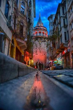 Galata Tower-Istanbul By Yaşar Koç – Gaye Yeşiltepe – Join the world of pin Istanbul City, Istanbul Travel, Places Around The World, Around The Worlds, Turkey Travel, City Photography, Antalya, Places To See, Beautiful Places