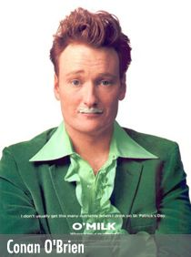 Conan O'Brien my fav.