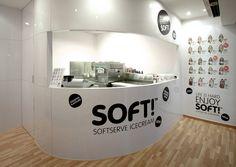 Soft soft serve ice cream.