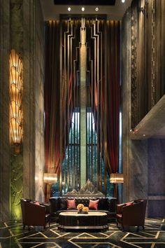 DB Kim Art Deco Bar, Art Deco Decor, Art Deco Home, Art Deco Design, Decoration, Interior Exterior, Interior Architecture, Interior Design, Art Deco Buildings