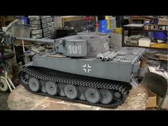 ▶ 1/6th scale scratch built German Tiger I tank project video #11 (Model Complete) HD video - YouTube