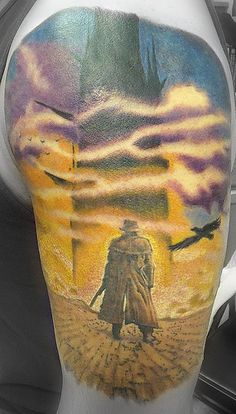 Paying homage to Stephen King's Dark Tower series. FABULOUS!