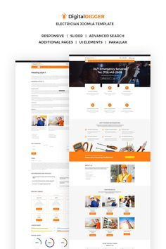 Are you an electrician? Do you want to set up an amazing website to promote your services online? With our template, you will be able to create the best website in the business! We provide your website with an extremely responsive and engaging design that will always make your clients happy. A large set of Google fonts allows you to find the perfect text style for the website. In a need to post a photo? With our template, you are able to easily set up galleries whenever needed.