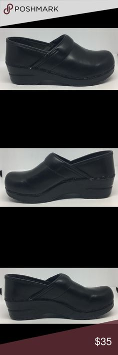 Dansko Professional Black Clogs Shoes 36 5.5-6 Worn a few times. Has wear but in Good Condition. See Pictures. Bin 7 B72 Dansko Shoes Mules & Clogs