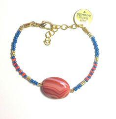 DW Boho Jewels - handmade boho bracelets - orange is the new black door DWBohoJewels op Etsy