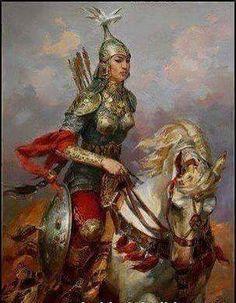 Tarihte bilinen ilk kadın hükümdar Massaget kağanı Tomris'tir. Tomris Türkçe karşılığıyla temir (demir) anlamına gelmektedir. MÖ 6. yy'da yaşadığı sanılmaktadır.