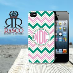iPhone 4 Case, iPhone 4s Case, Monogram iPhone