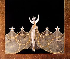 Erte- Queen of the Night