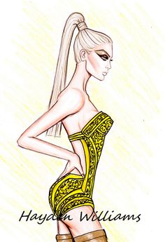 'Warrior Woman' by Hayden Williams by Fashion_Luva, via Flickr