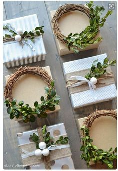 Image result for using a 6-pack to wrap gift