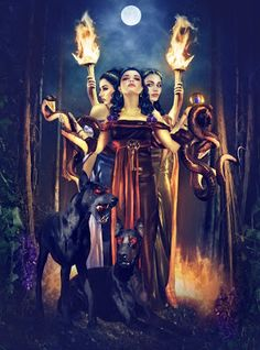 Mitologia Grega: Hécate, a deusa dos caminhos