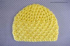 Sunshine and Hugs Crochet Beanie - Free Crochet Pattern Sizes Newborn to Adult   www.thestitchinmommy.com