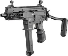 Gilboa 9mm AR-type submachine gun. This needs to be available in the U.S!