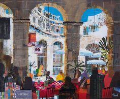 Mike Bernard: Lunch, Tuscany