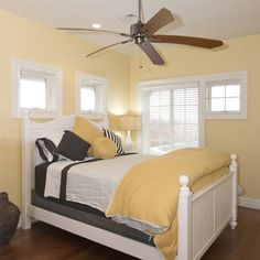 pale yellow and bright colors guest bedroom - Google Search