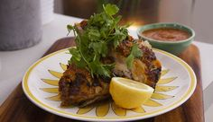 Adrian Richardson's Piri Piri Chicken - FoodTV Midweek Meals, Easy Meals, Food Network Recipes, Cooking Recipes, Piri Piri, Tv Chefs, Best Chef, Winter Food, Lunches And Dinners