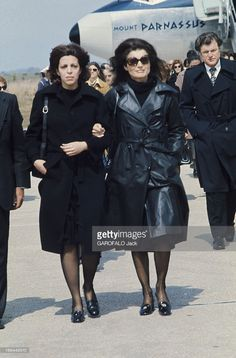 The Funeral Of Aristotle Onassis. Les funérailles d'Aristote ONASSIS... News Photo   Getty Images